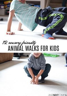 12 super simple and fun animal walks for kids that will calm their bodies and get them moving from And Next Comes L