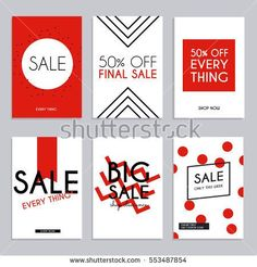 Media Banners Online Shopping Mobile Website Posters Email Newsletter Designs Vector Creative Sale 79672883 1300x1390