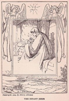 """The Infant Jesus"" illustration by Henry Altemus, copyright 1904."
