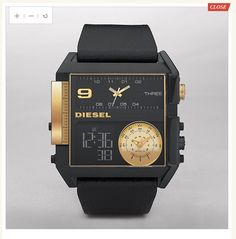 Diesel Watch: Multi Movement  Ryan LOVES Diesel watches and would love this one.