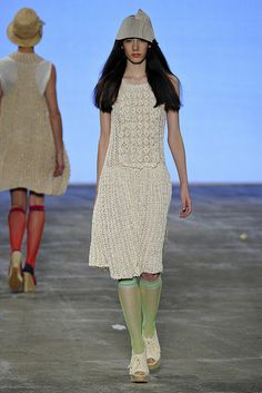 Runway inspiration crochet
