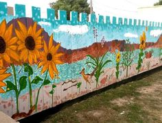 The Mountainair Sunflower Festival celebrates the town as well as the sunflower.