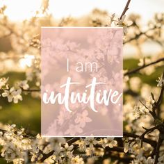 #MondayMantra: I am intuitive. Do you feel intuitive? Download this mantra or others at http://www.michellekirsch.com/mantras/.