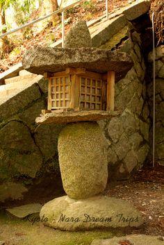 Originally made stone Lanterns (Tōrō-燈籠) at the Tenman jinja (天満神社) in Rural Okugaharachō, Nara-ken!