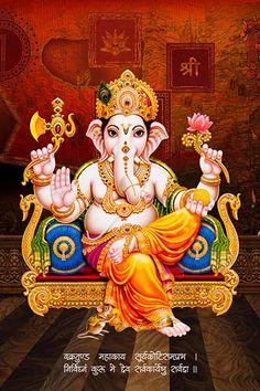 Ads Art Poster Wall decorative and Personalise Greeting cards Ganesha Drawing, Lord Ganesha Paintings, Ganesha Art, Krishna Painting, Shri Ganesh Images, Ganesha Pictures, Shiva Art, Hindu Art, Baby Ganesha