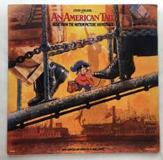 AN AMERICAN TAIL SOUNDTRACK VINYL 1986 MCA RECORDS FREE SHIPPING LP MCA-39096