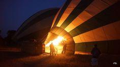 Balooning in der Masai Mara