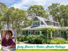 Judy Blume's Lake House in Martha's Vineyard For Sale