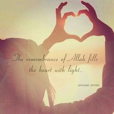 Remember Allah s.w.t in all circumstances