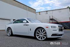 Rolls Royce Wraith with 24in Avant Garde AGL11 Wheels | Flickr - Photo Sharing!