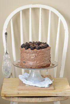 Blackberry Chocolate Cake