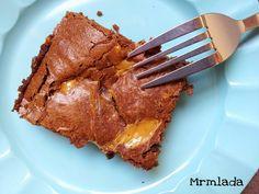 Mrmlada: Brownie de dulce de leche. Reto Alfabeto Dulce