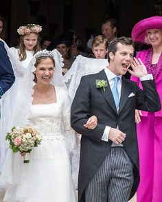 Royal Family Around the World: Princess Alix of Ligne Weds Count Guillaume de Dampierre in a Fairytale Ceremony at her Family's 14th Century Belgian Chateau in Beloeil on June 18, 2016
