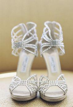 Featured Photographer: Caroline Tran Photography; Wedding shoes idea.