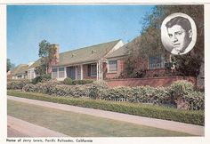 Jerry Lewis's home, Pacific Palisades, California