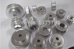 Timing type and aluminum alloy wheel, tooth pulley
