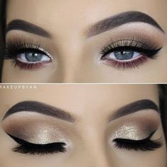 Best Ideas of Makeup for Blue Eyes ★ See more: http://glaminati.com/makeup-for-blue-eyes-ideas/ #makeupideas2017