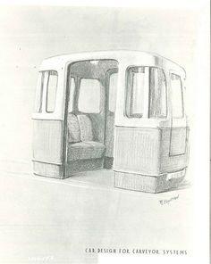 Carveyor proposal for World's Fair, 1958