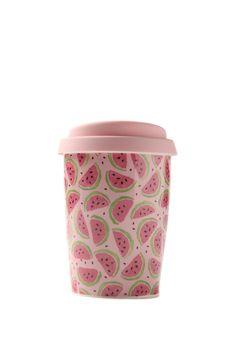 mini take away mug, WATERMELONS
