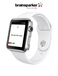 Brainsparker launches free creativity app for Apple Watch.  Use it to disrupt your thinking, activate your imagination and spark new ideas!
