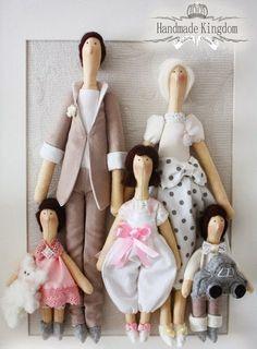 Mimin Dolls: tildas