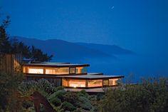 Celebrity honeymoon destination: Post Ranch Inn in Big Sur, California, USA