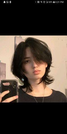 Edgy Short Hair, Asian Short Hair, Short Hair Cuts, Cut My Hair, New Hair, Hair Inspo, Hair Inspiration, Androgynous Hair, Mullet Hairstyle