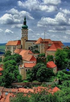 Mikulov castle (South Moravia), Czechia