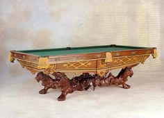 Best Pool Tables Images On Pinterest Pool Tables Bison And Buffalo - Brunswick monarch pool table for sale
