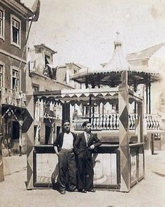 Coreto da Timbre, Largo, da Igreja, demolido Painting, Gazebo, 19th Century, 1950s, Painting Art, Paintings, Painted Canvas, Drawings