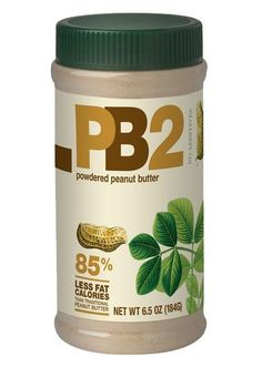 Bell Plantation PB2 Powdered Peanut Butter has all of the good parts about peanut butter, with 75% fewer calories and 85% less fat than regular peanut butter. It comes from freshly roasted peanuts. It