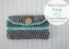 This adorable Mini Clutch Purse is great for a quick trip to the store or a night out on the town!