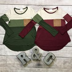 🛍NEW ARRIVAL🛍    The Colorblock Top in Green or Berry😊    PRICE $31 & FREE SHIPPING    But first...one for me😂 Shades of color with a camel pocket.     95% Rayon/ 5% Spandex    Available sizes:    Small (0-4), Medium (5-8), Large (9-12)  | Shop this product here: spree.to/bd3c | Shop all of our products at http://spreesy.com/JewelsByScarlett    | Pinterest selling powered by Spreesy.com