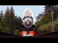 high speed run straight into and over camera by Steam Locomotive Railroad Bridge, Steam Locomotive, High Speed, Bridges, Iron, Horses, Youtube, Horse, Youtubers