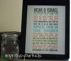 FREE download! Deuteronomy 4:6-9 scripture print by @jessiconnolly for ImpressYourKids.com