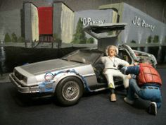 Back to the Future Diorama I built years ago. Built by Jay Dennis