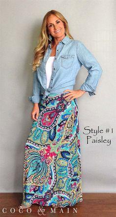Maxi Skirts - Plus Sizing Available | Jane