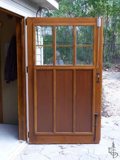 Carriage door interior shows Evergreen's shear panel construction.
