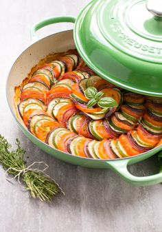 This easy Ratatouille recipe comes together quickl…