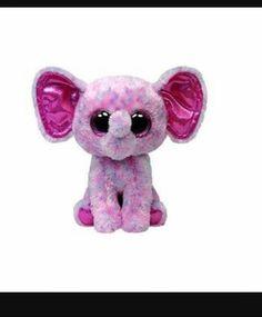 00d29938aae Ellie Elephant 6 Inch Beanie Boo Cute Stuffed Animals