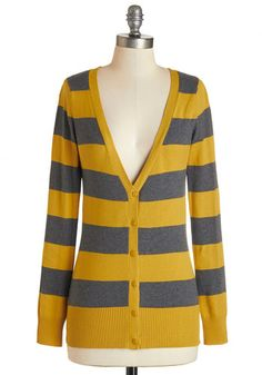Delicious Date Cardigan in Grey and Gold