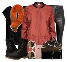 """""""Girl?...."""" by fashionista-sweets ❤ liked on Polyvore featuring Bobeau, Andrew Marc, Timberland, Belkin, Kartell and ZeroUV"""