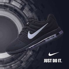 3048f8d2048 Fashion sneakers are available for you in our Nike Air Max 2017 online  store! Nike Air Max 2017 Black Leather Women Men Shoes are of great quality  and have ...