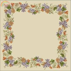Cross Stitch Fruit, Diagram, Flowers, Decor, Projects To Try, Decoration, Decorating, Royal Icing Flowers, Flower