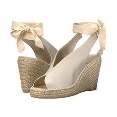 9263ff963 Espadrille Ankle Tie Sandals Peep Toe Wedge Sandals - gifthershoes Wedge  Shoes, Peep Toe Wedges