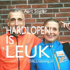 """CHiLLrunning Karen de Bondt met Aart Stigter - """"Hardlopen is Leuk""""  masterclass via ZDR Masterclass, Karen"""