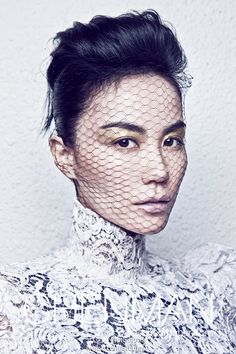 Faye Wong covers Harper's BAZAAR China, October 2012.