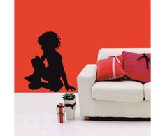 Lovely #little #Boy #wall #sticker from #meSleep available with us at a #discounted #price. Check it out on http://www.makenlive.com/products/9509/walls-and-paints/wall-stickers/Boy  #art #decor #design #idea #home #interior