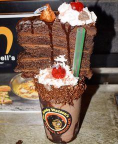 Mr. Randy Watsons Sexual #chocolate #shake @fatsalsdeli #popup #McDowells for #Halloween  #fatsals #hollywood #sogood #foodporn #mustget #sexualchocolate #mrrandywatson #comingtoamerica
