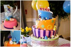Love the tilted cake. Must. learn. to. bake.